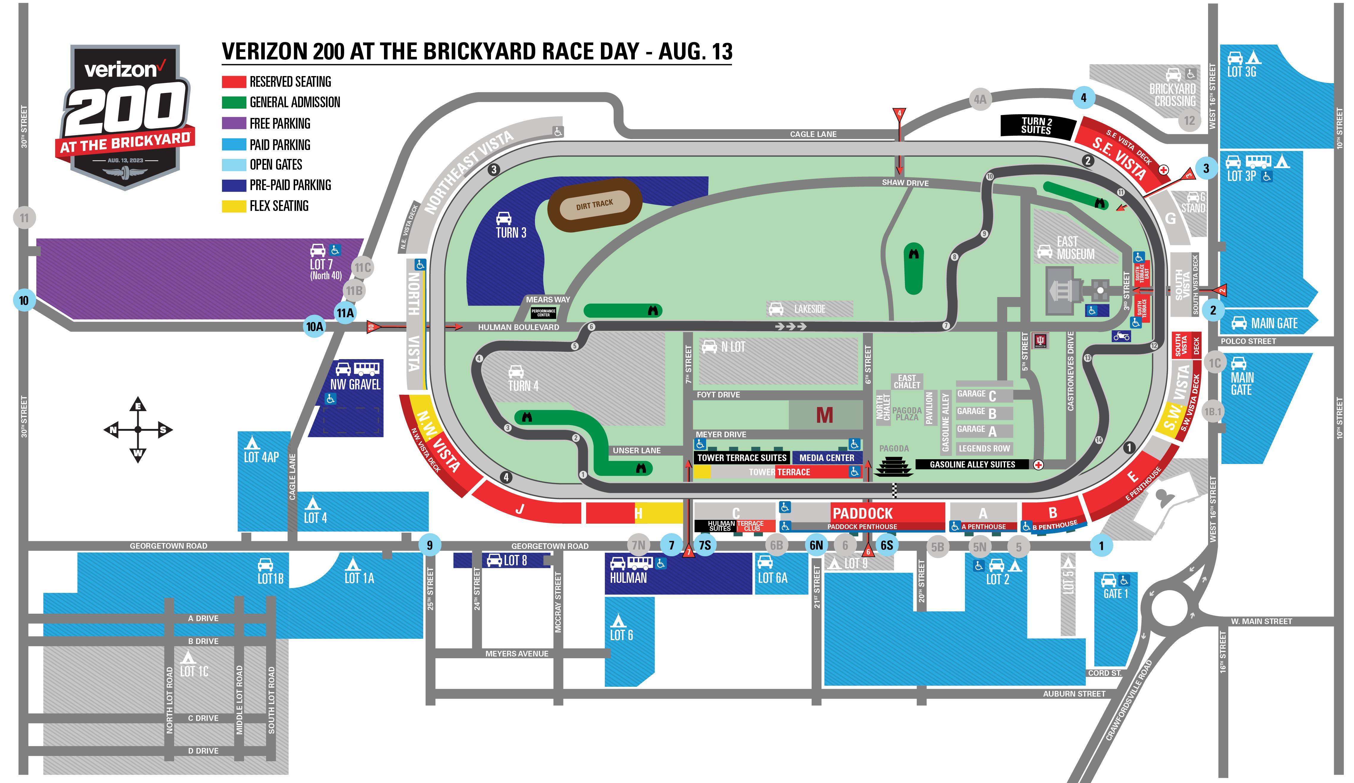 Verizon 200 Race Day