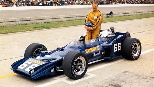 1970 Mark Donohue qualifying photo