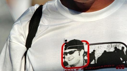 A Dale Earnhardt Jr. fan before the race.