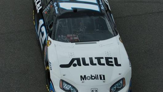 The No. 12 Alltel Dodge driven by Ryan Newman