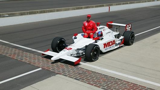 Jeff Bucknum in the No. 92 Life Fitness car.