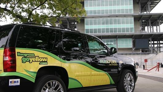 A FlexFuel Chevrolet truck
