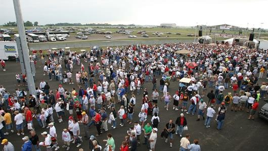 People come from all over to see the Iowa Corn Indy 250 at Iowa Speedway.