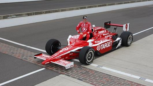 Scott Dixon, #9 Target Chip Ganassi Racing Dallara/Honda/Firestone, pole