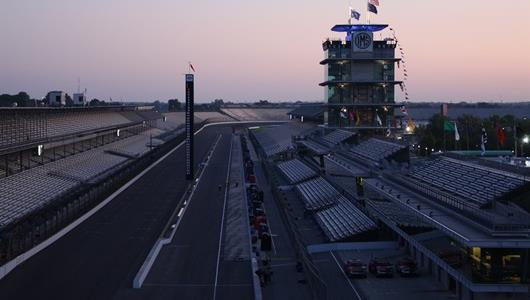 Sunrise on Allstate 400 at the Brickyard Race Day!