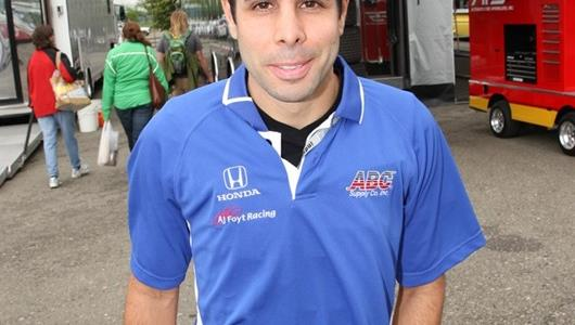 Vitor Meira makes it to the Glen for his first race since his accident at Indianapolis.