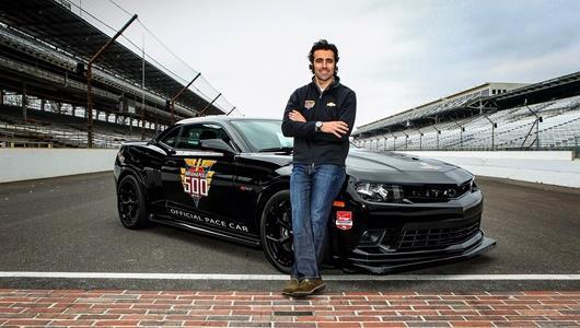 Dario Franchitti To Drive Chevrolet Camaro Z/28 Indianapolis 500 Pace Car
