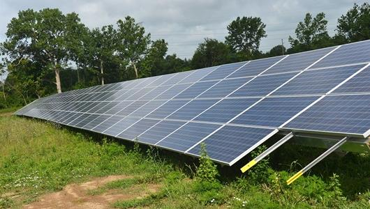IMS Solar Power Facility Opens