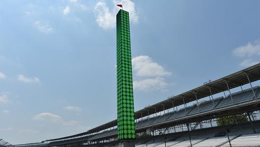 IMS unveil the new scoring pylon