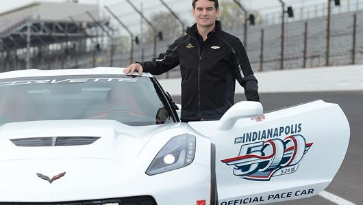 Jeff Gordon to pace the Corvette Z06 for the 99th Indianapolis 500
