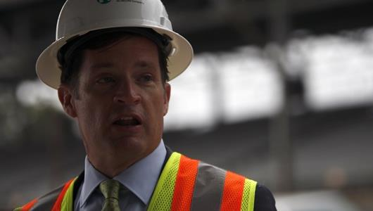 IMS President Doug Boles showcase improvements to IMS through Project 100