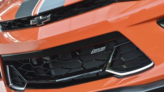 The Hot Wheels® 50th Anniversary Edition Camaros also have the iconic black Chevrolet Bowties.
