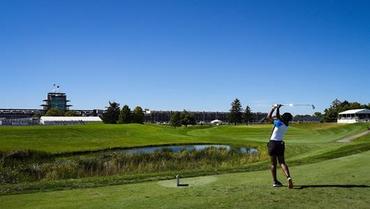 LPGA Action on Day One of the Indy Women In Tech Championship