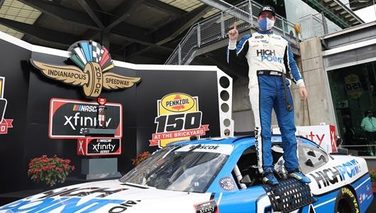 Chase Briscoe wins the Pennzoil 150 at the Brickyard 150