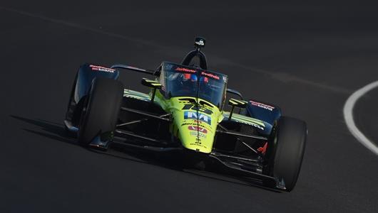 Ed Jones - Indianapolis 500 Open Test