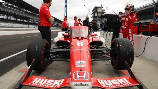 Marcus Ericsson - Indianapolis 500 Open Test