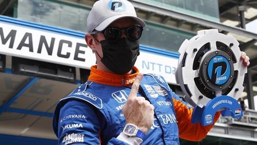 Scott Dixon - Indianapolis 500 Qualifying