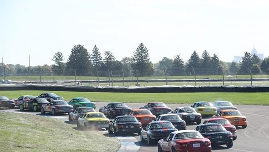 Nearly 1,000 team-and-driver entries descended upon the Racing Capital of the World Oct. 1-3 for the SCCA Runoffs, the first time the event has been held at IMS since 2017.