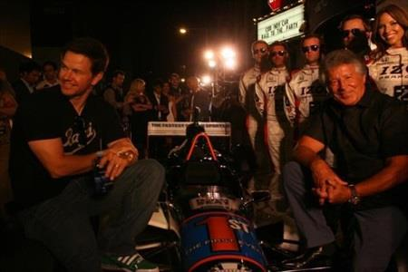 Wahlberg, Andrettis Team Up For IZOD Fastest Seat In Sports At Indy
