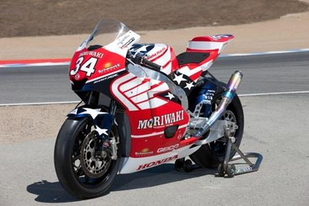 Team Honda/Moriwaki Moto2 Entry At Indy To Carry Schwantz's Famous 34