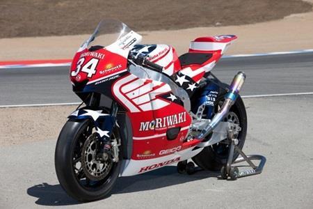 Team Honda/Moriwaki Moto2 Entry At Indy To Carry Schwantz's Famous 34