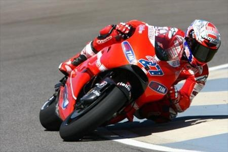 Stoner Leads Red Bull Indianapolis GP Practice; Hayden Third