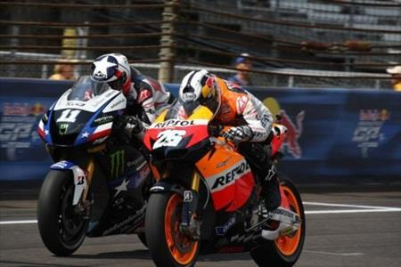 Pedrosa Beats Heat For Win; American Spies Finishes Second