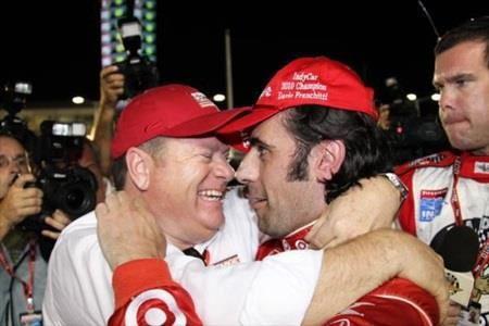 Indy 500 Winner Franchitti Doubles Up With Series Title