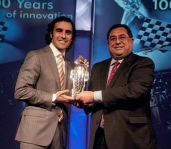 Second Indy Win Sinks In As Franchitti Accepts 'Baby Borg'