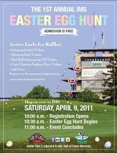 Kids, Families Can Enjoy Free Easter Egg Hunt April 9 At IMS