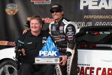 Tagliani Wins PEAK Performance Pole On Wild Day