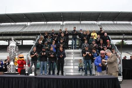 Indianapolis 500 Race Countdown Begins With Public Drivers' Meeting