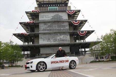 Fans Can Win Chevy Camaro Pace Car By Ordering 2012 Indianapolis 500 Tickets