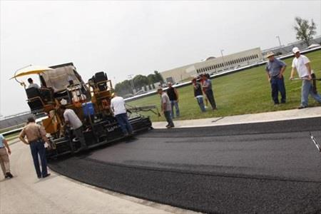 Repaving Of Infield Section Of IMS Road Course Completed