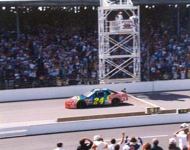 'Rainbow Warriors' Helped Gordon Make History At Brickyard