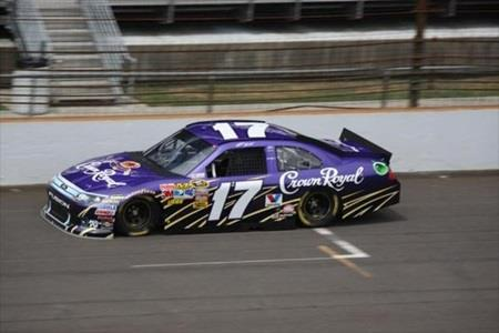 Kenseth Leads Roush Fenway Power Play During Brickyard 400 Practice