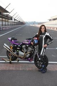 Female Rider Moreda Ready To Make History At IMS