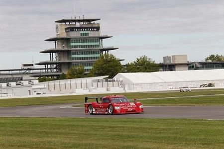 GRAND-AM Champion Gurney Happy With First Day Of Test At IMS