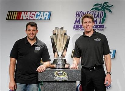 Stewart, Edwards Last Men Standing In Chase Showdown At Homestead