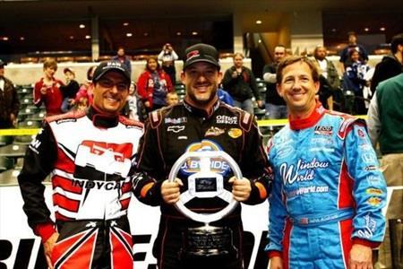 Stewart tops INDYCAR stars in kart race