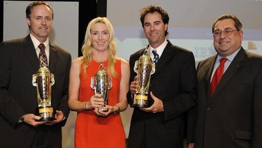 Wheldon's Memory, '500' Win Honored In 'Baby Borg' Presentation