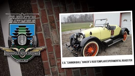 Celebration of Automobiles Entrant: 1920 Templar Experimental Roadster