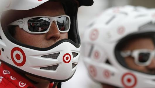 Target Chip Ganassi earns first IZOD Pit Stop Challenge win