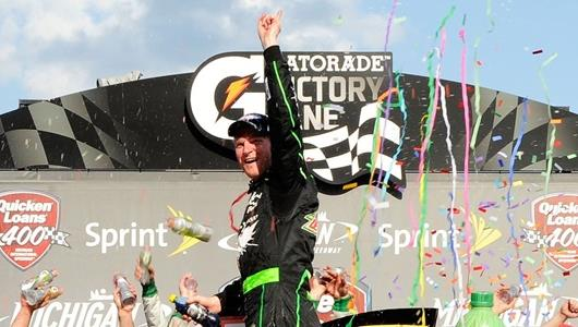 Long-sought victory keeps Dale Jr. rolling toward Brickyard