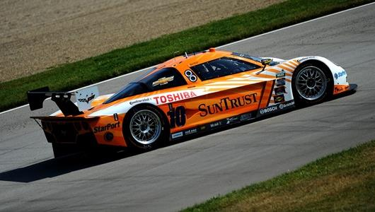 Fast Speeds, Hot Temps At IMS As GRAND-AM Test Concludes