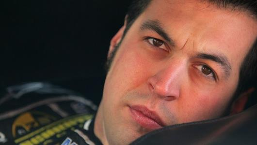 Hornish On Smoother Stock Car Path In Return To Brickyard