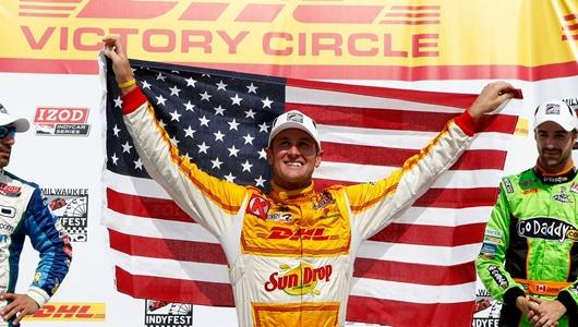 Hunter-Reay Aiming To Expand Star-Spangled Lead In Points At Edmonton