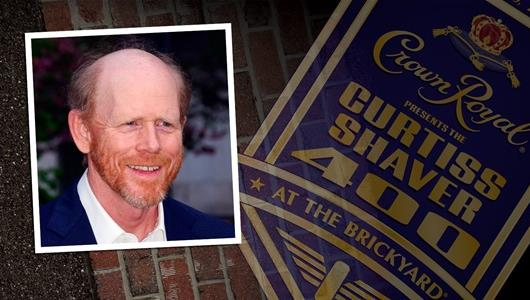 Two-Time Academy Award Winning Film Maker Ron Howard To Drive '400' Pace Car At IMS