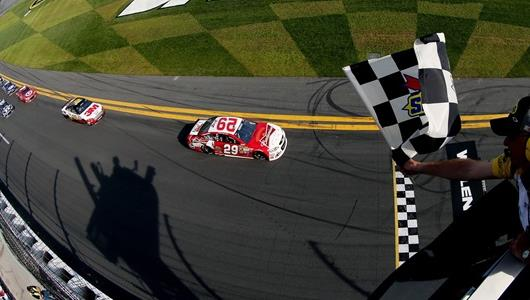 Brickyard Winner Kevin Harvick Becomes a Favorite After Daytona Duels