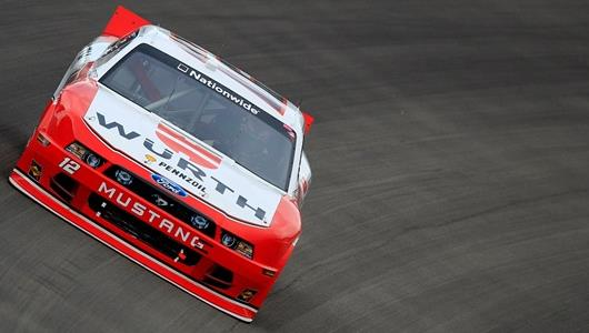 Hornish Perseveres For Emotional Nationwide Victory At Vegas